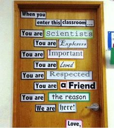 Using this for my door, seems like a nice daily pick me up
