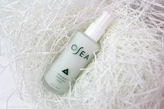 OSEA atmosphere protection cream rv $48 NOT NEW! used twice (about 3-4 pumps), but the scent is just too strong to handle for me. the pump top and entire outer part of the bottle  was disinfected with alcohol.