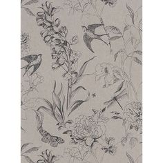 Designers Guild Jardin des Plantes Sibylla Paste the Wall Wallpaper at John Lewis