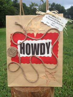 Western Party Bag  Party and Wedding Favor  by CountryBarnBabe, $3.50