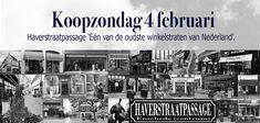 Zondag 'koopzondag' in Enschede en de Haverstraatpassage.    #Haverstraatpassage #Enschede (centrum). 'Eén van de oudste winkelstraten van Nederland'.