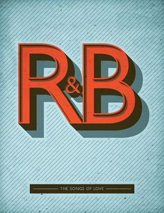 R&B #typography