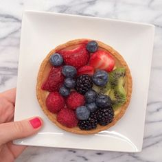 Fruit tarte.