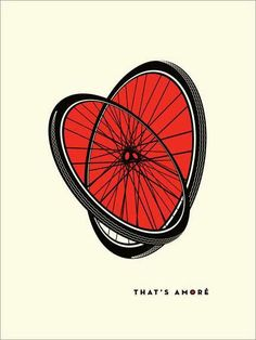 ruote bici cuore that's amore san valentino