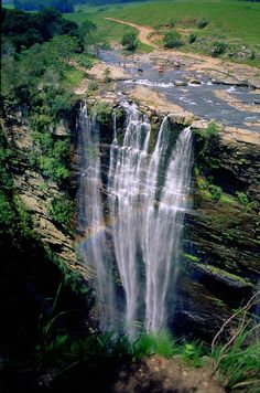 Lusikisiki Eastern Cape, South Africa Be Inspired! Think what you could do and see in South Africa while making a difference! Places To Travel, Places To See, Beautiful World, Beautiful Places, Les Seychelles, Beautiful Waterfalls, Africa Travel, Vacation Spots, Wonders Of The World