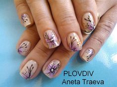 flowers by anet_tra - Nail Art Gallery nailartgallery.nailsmag.com by Nails Magazine www.nailsmag.com #nailart
