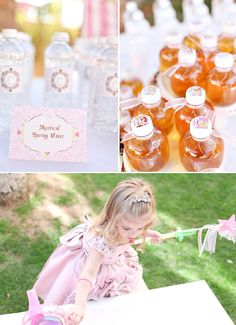 Sweet Fairtyale Princess Birthday Party