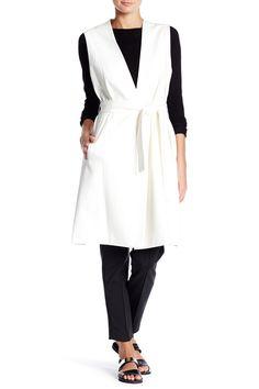 Sleeveless Wrap Vest