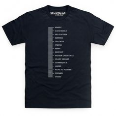 Beard Ruler T Shirt
