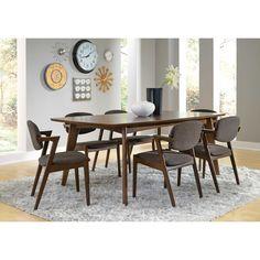 // Mid-century modern dining room table