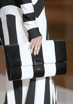 The Spring 2013 Accessories Report - Black and White - Marc Jacobs