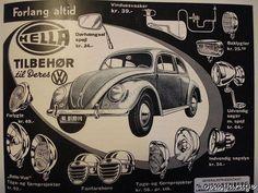 Accesorios Hella. Década 1950