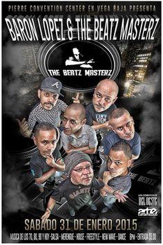 DJ Baron López y The Beatz Masterz @ Pierre Convention Center, Vega Baja #sondeaquipr #djbaronlopez #thebeatzmasterz #pierreconventioncenter #vegabaja