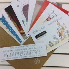 Image of Postales solidarias #winterprojectlife2013