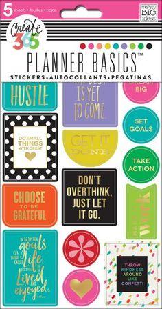 Planner Basics™ Stickers - Bright