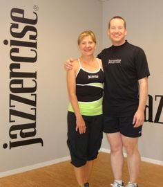 Kevin With Red Deer Alberta Visiting Instructor Arlene At The Jazzercise Palm Springs Fitness Center 760 320 1933 Spring Workout Jazzercise Fitness Center