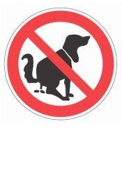 Vorlage Verbotsschild kein Hundeklo | Schilder-Hinweis bei formularbox.de