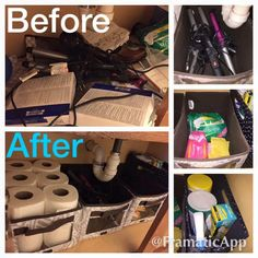 Your Way Jr. Cubes:  Who else has the BEFORE picture under our bathroom sinks???  No worries, Thirty-One Gifts can help you change that in no time at all.