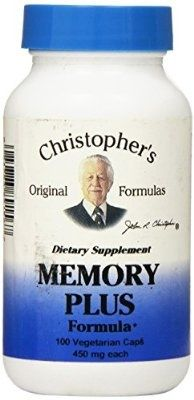 Dr Christopher's Formula Original Memory Plus, 100 Count - For Sale Check more at http://shipperscentral.com/wp/product/dr-christophers-formula-original-memory-plus-100-count-for-sale/