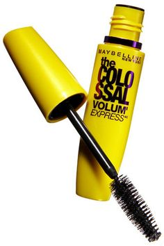 Maybelline The Colossal Volum' Express mascara. This mascara gives me spider lashes! It clumped my lashes together and made them spiky and spidery. It did make them longer but didn't add volume, which is what I really want in a mascara. Maybelline Colossal Mascara, Maybelline Mascara, Best Drugstore Mascara, Best Mascara, Beauty Makeup, Eye Makeup, Bridal Musings, Volume Mascara, Nars