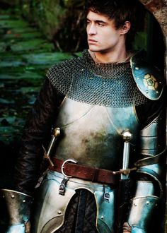 Max Irons (in the White Queen). I think I literally need a knight in shining armor... Mads is a knight.