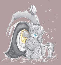 Блестящие картинки плюшевых мишек