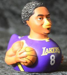Celebriducks Kobe Bryant Lakers Number 8 Celebrity Duck First Edition #LosAngelesLakers