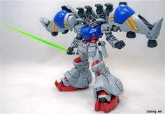 RX-78GP02A Gundam GP02A (Type-MLRS) - Federazione Terrestre (Manga: Katana e Mobile Suit Zeta Gundam Define.)