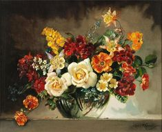 Cecil Kennedy ~ Flowers painter