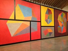 Sol LeWitt at the Paula Cooper Gallery