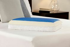 Lifestyle Now 3 in 1 Reversible Gel Memory Foam Pillow | Bedplanet | Bed Planet | Bedplanet.com