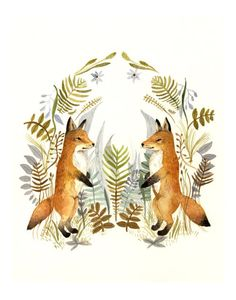 Foxes in my head