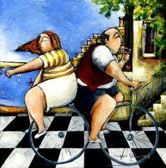 Love Ride by Elzette Welgemoed | Dante Art Gallery