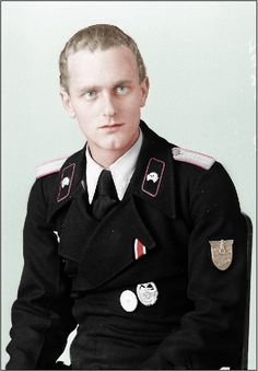 Panzer Uniform | Colorized Images of WWII and Other Subjects | Page 3 ...