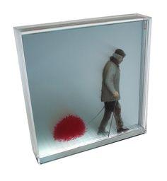 Layered Plexiglass Artworks by Yosman Botero