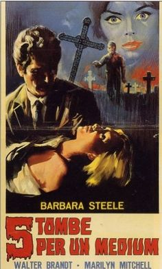 """Watched a hybrid print in Italian which includes all the footage from different versions.  Still a minor Italian horror, but much better than the English version """"Terror Creatures from the Grave"""""""