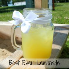 Glamp Laugh Love:  Best Ever Lemonade  1 cup Country Time Lemonade Mix  2 cups Cold Water  2 cans Sprite  46 oz. Pineapple Juice  Directions: Mix all ingredients in a 2 quarts pitcher. Serve over ice and enjoy!