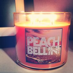 peach bellini candle...love it for the summertime