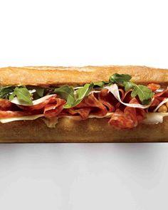 Italian Salami Sandwich