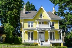 Victorian home in the Village of Nyack, New York - http://www.realestatehudsonvalleyny.com/rockland-towns/nyack/