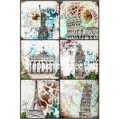Mixed Media Art, drawing and painting from Stephanie Schütze http://scrapmanufaktur.blogspot.com