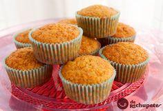 Aún estáis a tiempo de prepararlos como postre o merienda. Unos deliciosos muffins de zanahoria http://www.recetasderechupete.com/muffins-de-zanahoria/15425/