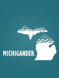 Michigander! #michigan #statepride #lovelansing www.michigancreative.com
