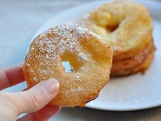 Frittelle alle mele con la farina di riso senza glutine