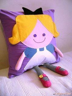 Шьем подушечки для деток. Идеи для вдохновения.