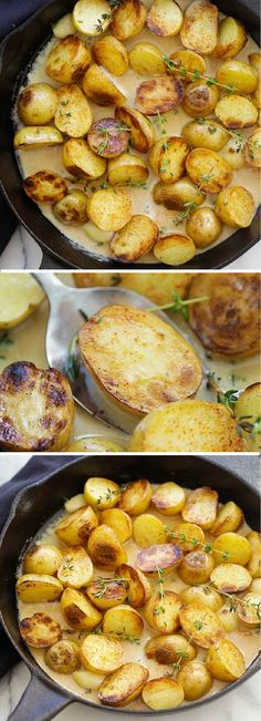 Side Dish Recipes, Vegetable Recipes, Vegetarian Recipes, Dinner Recipes, Cooking Recipes, Healthy Recipes, Healthy Tips, Potato Dishes, Vegetable Side Dishes