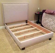 Trend Bed Frame With Headboard Creative