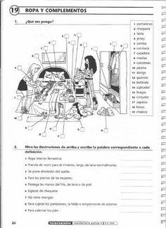 ISSUU - Vocabulario activo 2. Fichas con ejercicios fotocopiables (Intermedio - avanzado) by Jean-François Borgniet