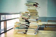 This is how I arrange my books. I like it that way, hahaha.