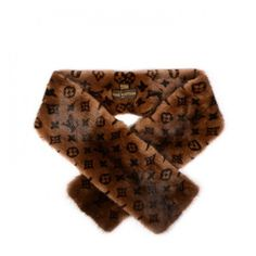 LOUIS VUITTON Monogram Mink Fur Scarf Stole Wrap ❤ liked on Polyvore featuring accessories, scarves, wrap scarves, monogrammed scarves, mink shawl, evening shawl and mink fur stole